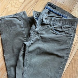 Banana Republic men's corduroys